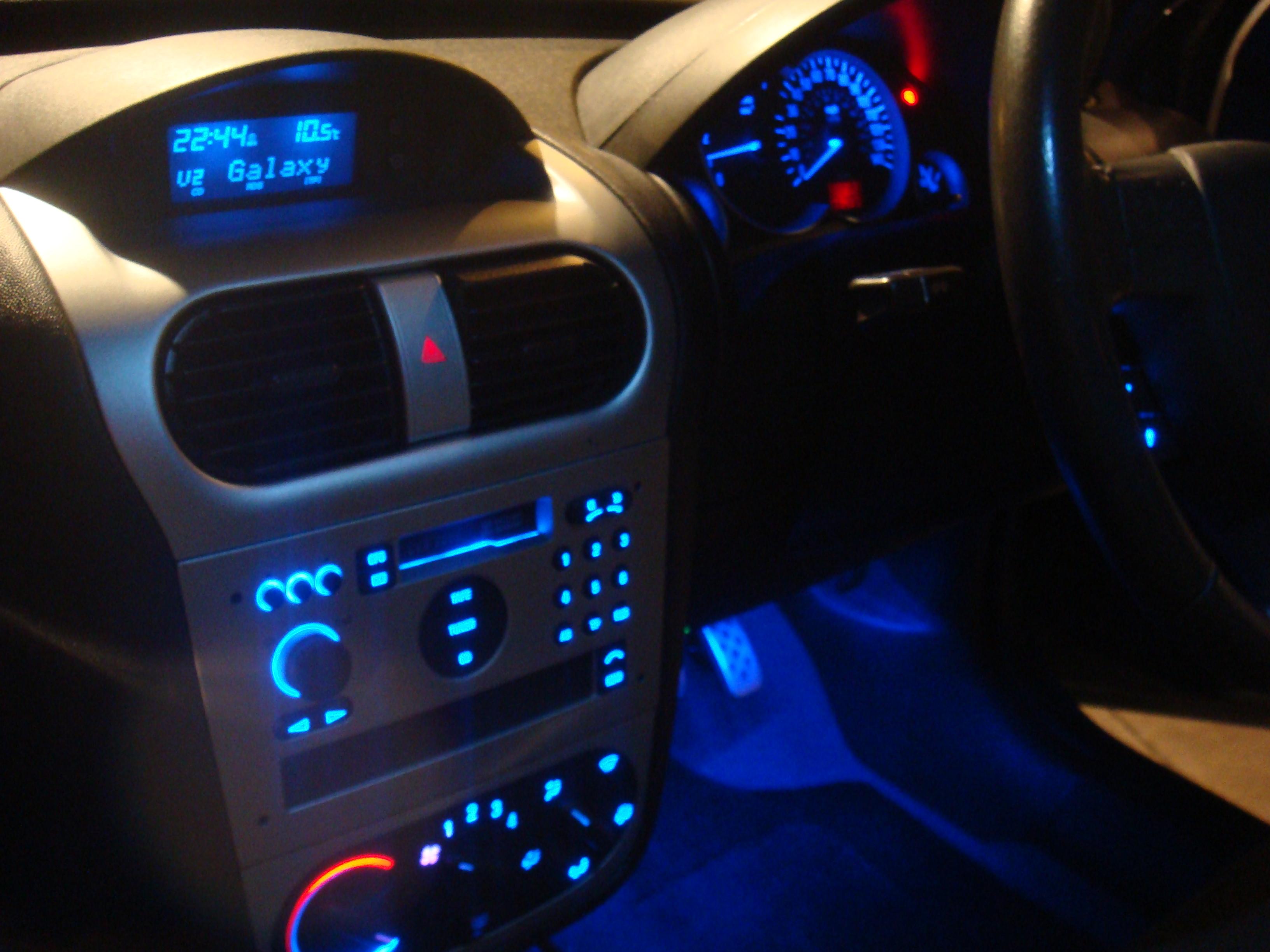 Interior dashboard mod question for Opel corsa c interieur